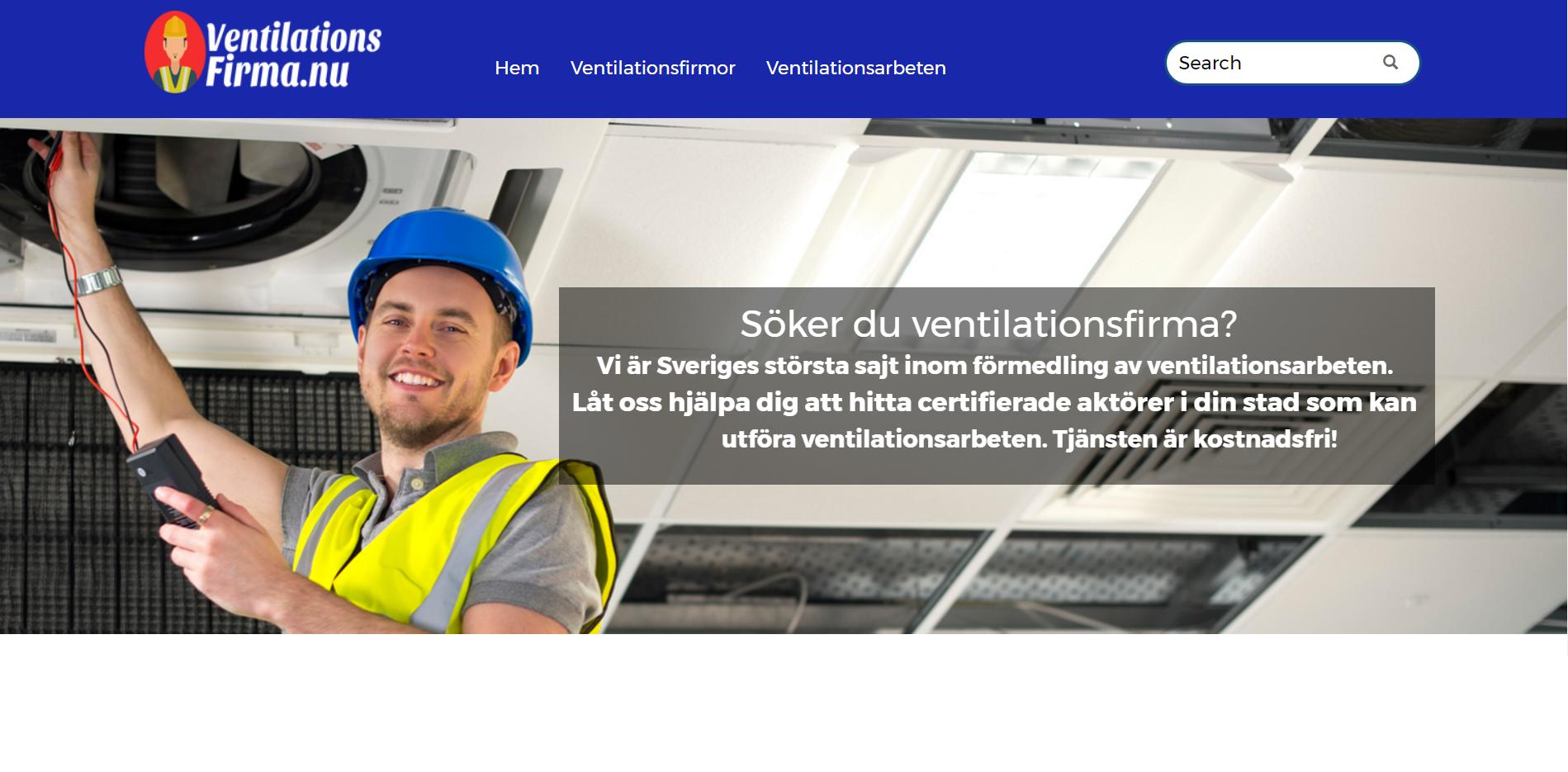 Ventilationsfirma.nu